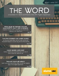 The Word, Winter 2017